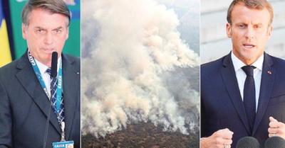 Bolsonaro se hace de rogar, mientras se quema la Amazonia