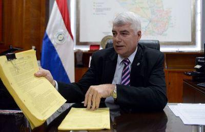 MOPC firmó ayer el primer contrato para reconstruir la Ruta Transchaco
