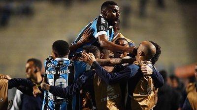 Gremio logró una gran remontada y avanzó a la semifinales de la Libertadores