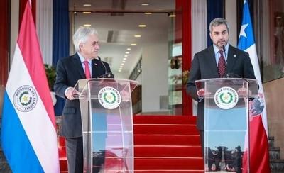 HOY / Abdo agradece a Piñera apoyo para combatir incendios y habla sobre fortalecer vínculos con Chile