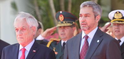 Presidente de Chile en Paraguay