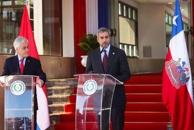 Abdo Benítez y mandatario de Chile mantendrán una reunión bilateral en marzo