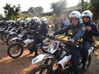 Presentan al nuevo Grupo Táctico Motorizado Gua'i
