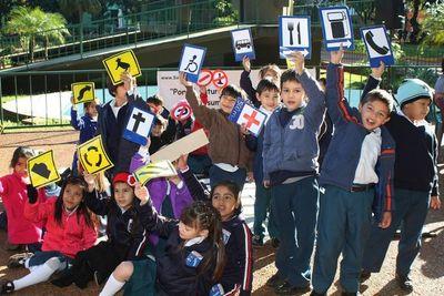 """""""Campaña de educación vial"""" para capacitar ciudadanos desde la niñez"""
