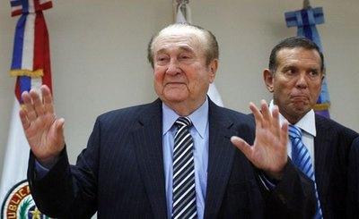 Nicolás Leoz falleció a los 90 años