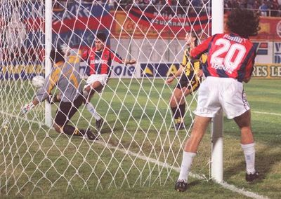 Las remontadas en Libertadores