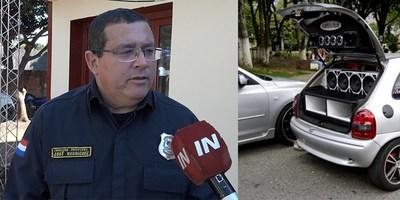 INTENSO CONTROL EN ESTACIONES DE SERVICIO ANTE DENUNCIAS POR POLUCIÓN SONORA