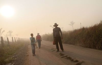 El Brasil prohibe quemas en los campos y bosques