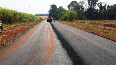 Abren llamado para pavimentación asfáltica en siete departamentos del país