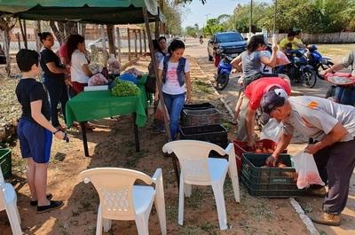 Feria de tomate en Loreto