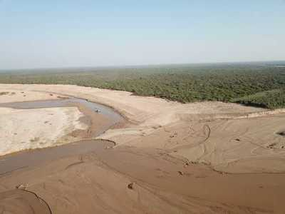 Aguas del Pilcomayo ingresan al Chaco paraguayo por nueva embocadura