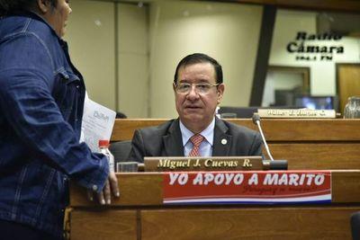 Fiscalía apeló incompetencia jurisdiccional en caso del diputado Miguel Cuevas