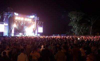 Una multitud disfrutó del Festival Ykua Bolaños •