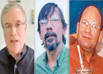 Arrom, Martí y Colmán: encerrados en una cárcel común