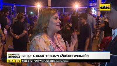 Mariano Roque Alonso festeja sus 74 años de fundación