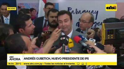 """Gubetich: """"Yo no voy a ser un presidente de escritorio"""""""