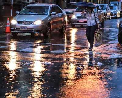 Lluvias con tormentas eléctricas se aguardan para la jornada del sábado