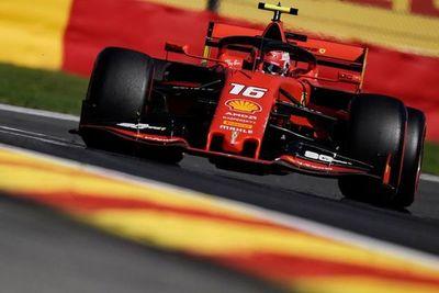 Leclerc saldrá primero en Bélgica