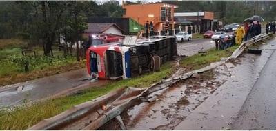 Violento accidente deja un fallecido en Itapúa