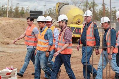 Presidente verificó obras viales en Caaguazú que potenciarán la conectividad de la zona