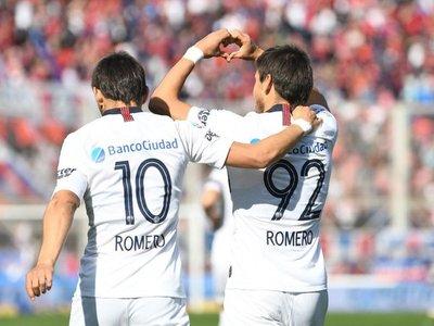 San Lorenzo ya disfruta de Ángel y Óscar Romero