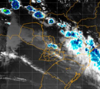 Anuncian tormentas eléctricas para 7 departamentos