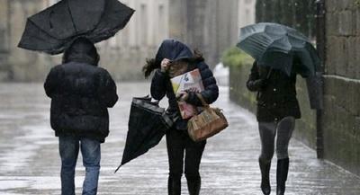 Anuncian lluvias y tormentas eléctricas aisladas para el este del país
