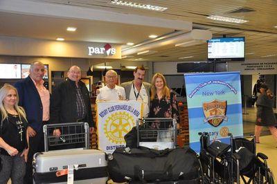 Rotarios de EE.UU vienen a apoyar Comilona a favor del hospital del Lambaré