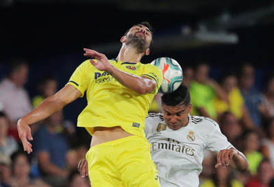 Villarreal y Real Madrid, cuidándose, firman la paridad