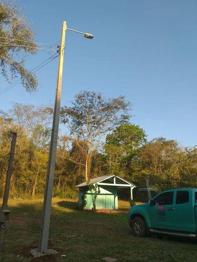 Esperaron 25 años para tener una extensión de red eléctrica de la ANDE en Guairá