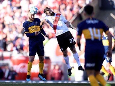 El superclásico argentino terminó empatado