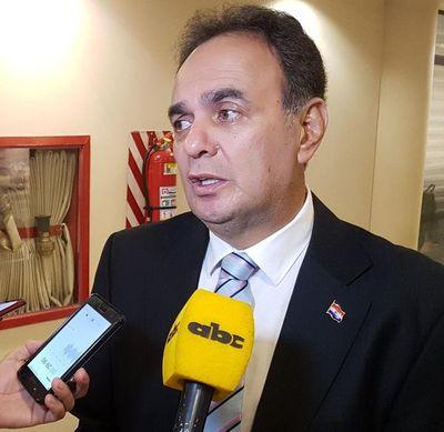 """Monges insiste en que Cartes es el """"ideal"""" para la presidencia de la ANR"""