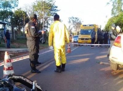 Pareja pierde la vida en accidente de tránsito en Villarrica
