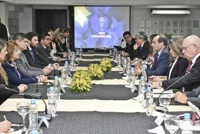 Reunión clave para la final de la Sudamericana