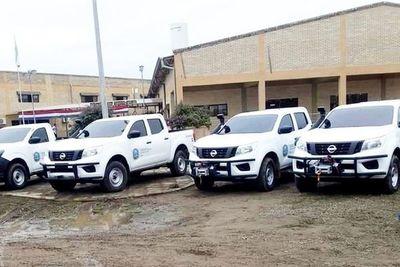 Dos vehículos nuevos de Boquerón, ya en el   taller