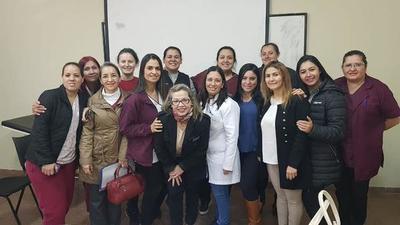 Profesionales de obstetricia de Ciudad del Este, fortalecen redes de servicios