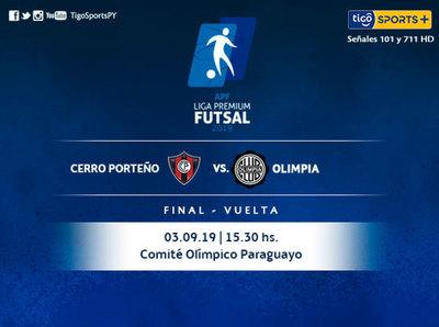 Cerro Porteño y Olimpia definen la Liga Premium