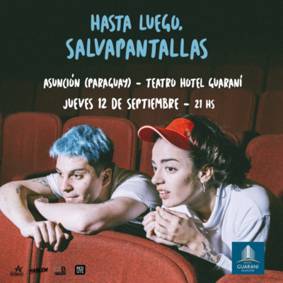 """Pop argentino """"Salvapantallas"""" en vivo el 12 de setiembre en Teatro Guaraní"""