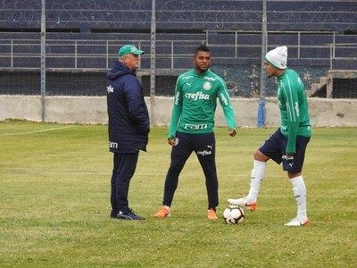 Gustavo Gómez quedó sin su DT en Palmeiras