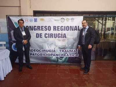 Cirujano de Tesãi, presidente de la novel filial Alto Paraná de la Sociedad Paraguaya de Cirugía Endoscópica