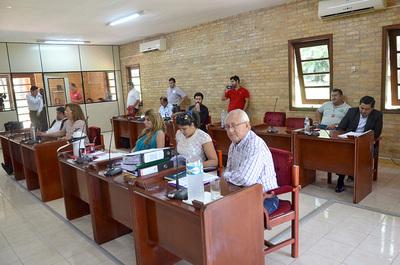 Sin quorúm en la Junta de CDE para tratar minutas de concejales