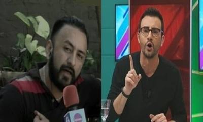 Fuerte discusión entre Carlos Gómez y Churero