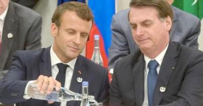 Sigue enfrentamiento entre Bolsonaro y Macrón