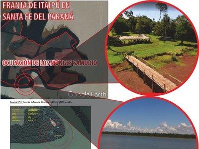 Itaipú: Invasores que prometieron salir logran licencia para montar  club