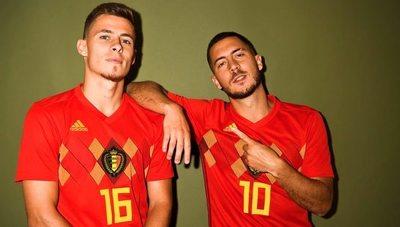Los hermanos Hazard no estarán con su selección