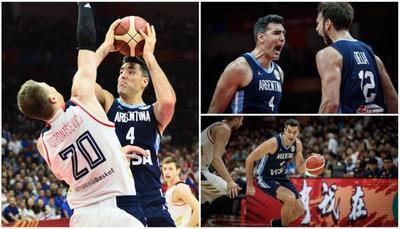 En duelo por el liderato Argentina derrota a Rusia en el Mundial de Basket