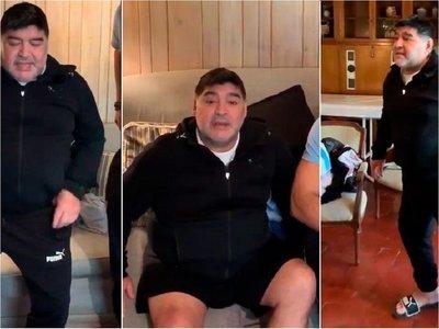 La frase de Maradona que ilusiona a los hinchas de Gimnasia