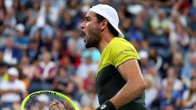 Berrettini eliminó a Monfils y avanzó a semifinal