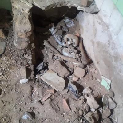Encuentran restos óseos en la expropiedad de Alfredo Stroessner