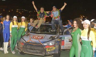 Los campeones del Rally del Chaco